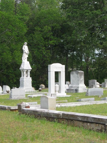View of New Cemetery