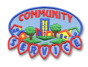 2012 Community Service Badge